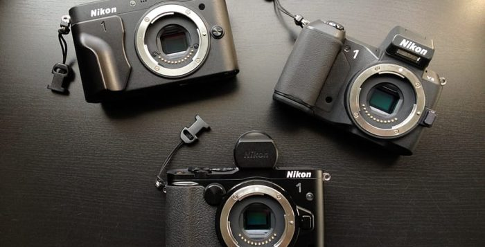 Nikon 1 trinity