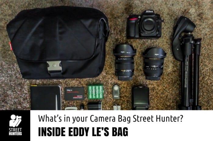 Eddy Le's 's camera bag promo