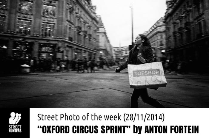 Promo for Oxford Circus sprint by Anton Fortein