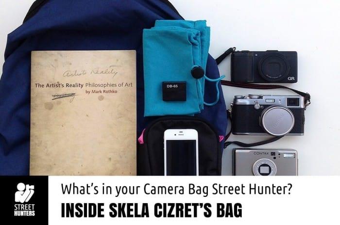 Skela Cizret's Camera Bag promo
