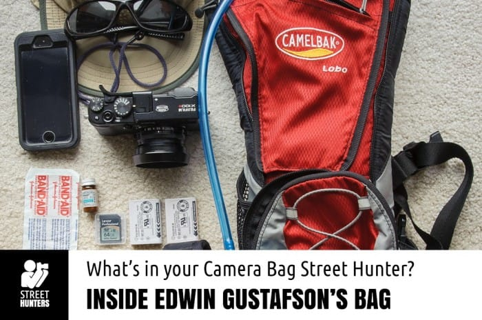 Edwin Gustafson's Camera bag promo
