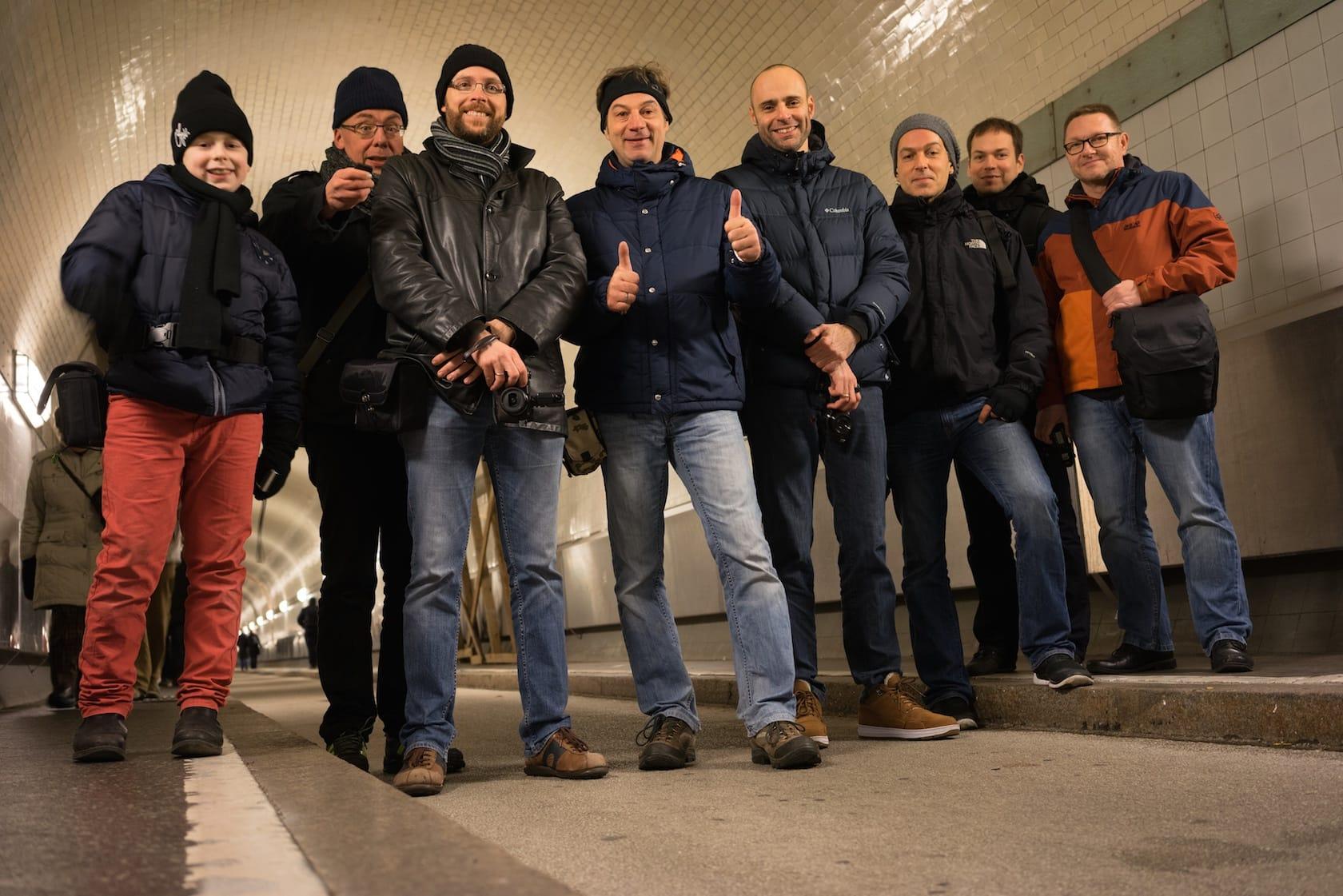 Hamburg Street Hunt members