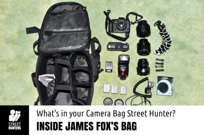 James Fox's Camera Bag promo