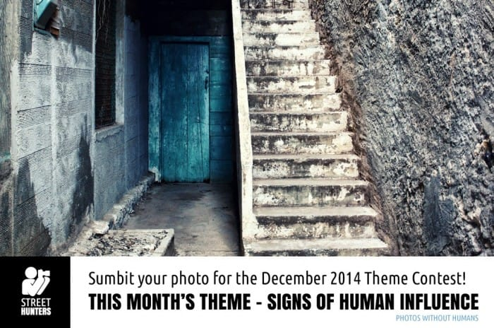 Signs of human influence - Theme Contest for December 2014