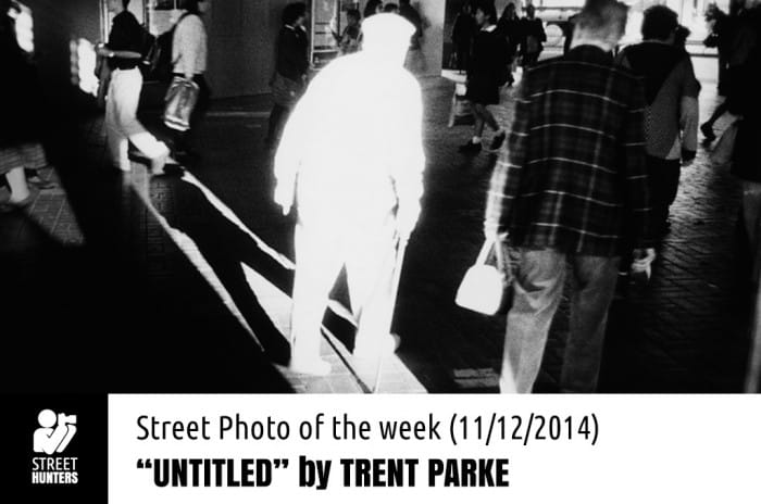 Street Photo of the week by Trent Parke promo