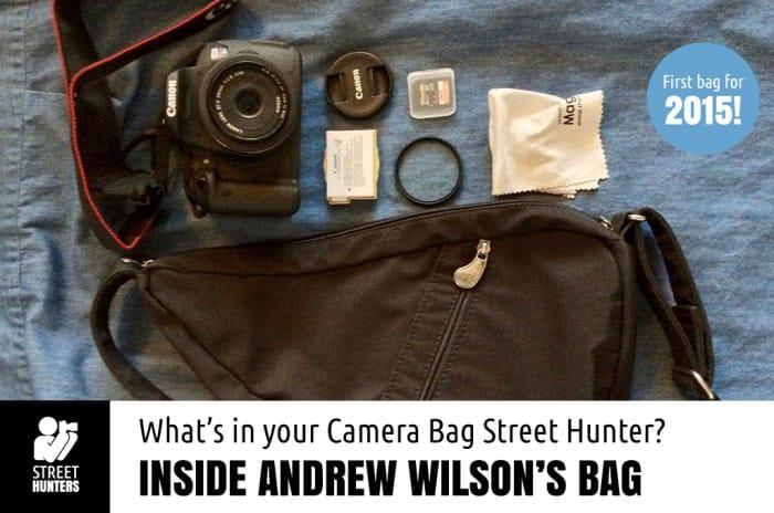 Inside Andrew Wilson's Camera Bag promo