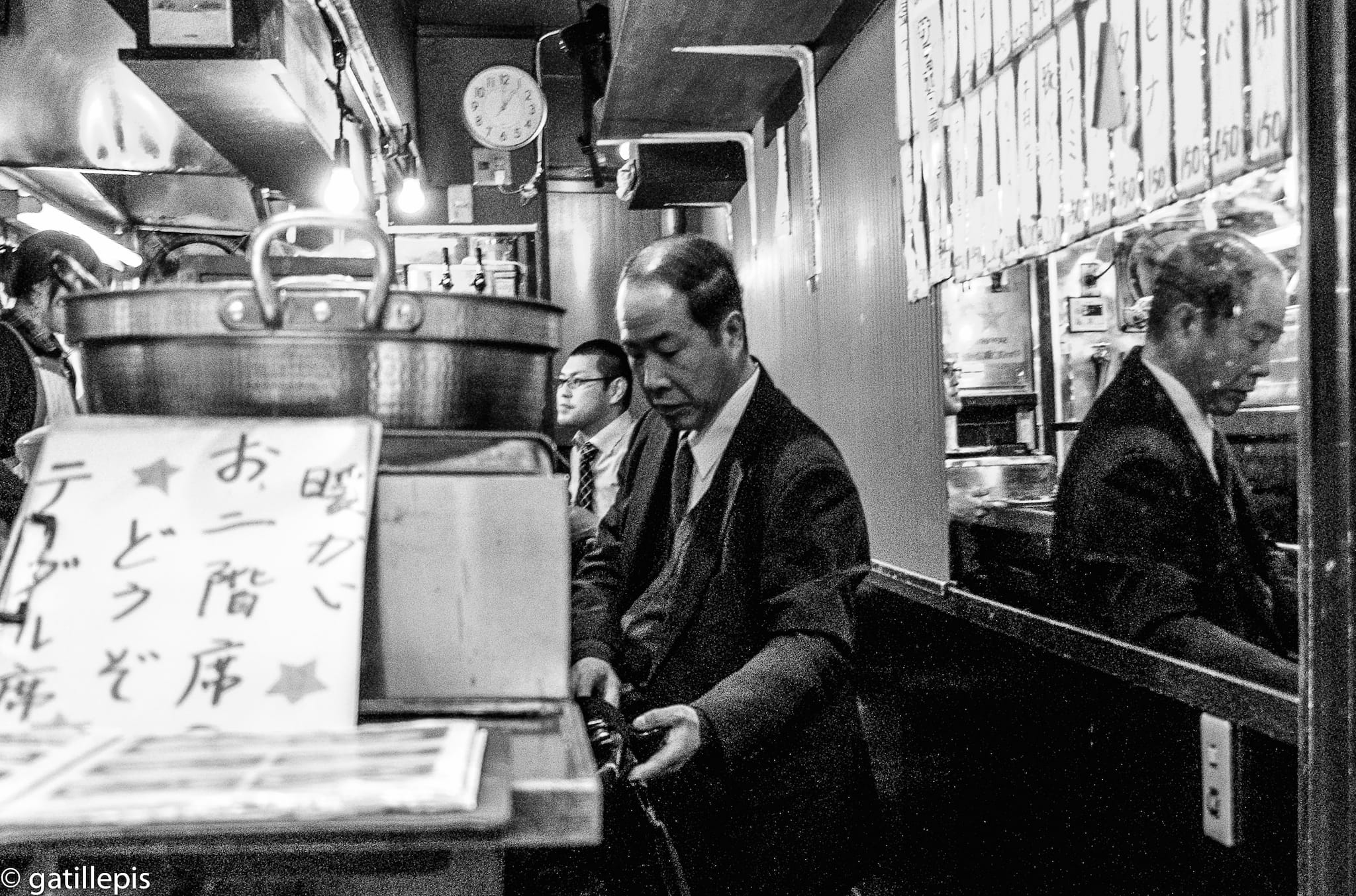 """""""1 pm"""" by Jordi Mallol i Comas Shot in Tokyo, Japan on Christmas Day 2014"""