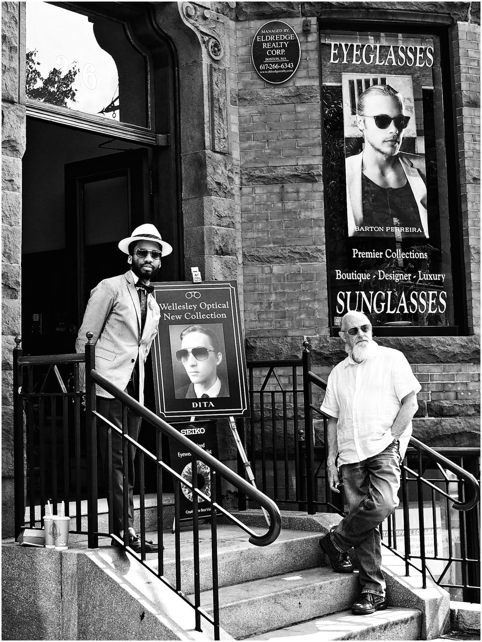 """8 Eyes"" by Philip Salgannik. Shot in Newbury Street, Boston, MA, USA, July, 2014"