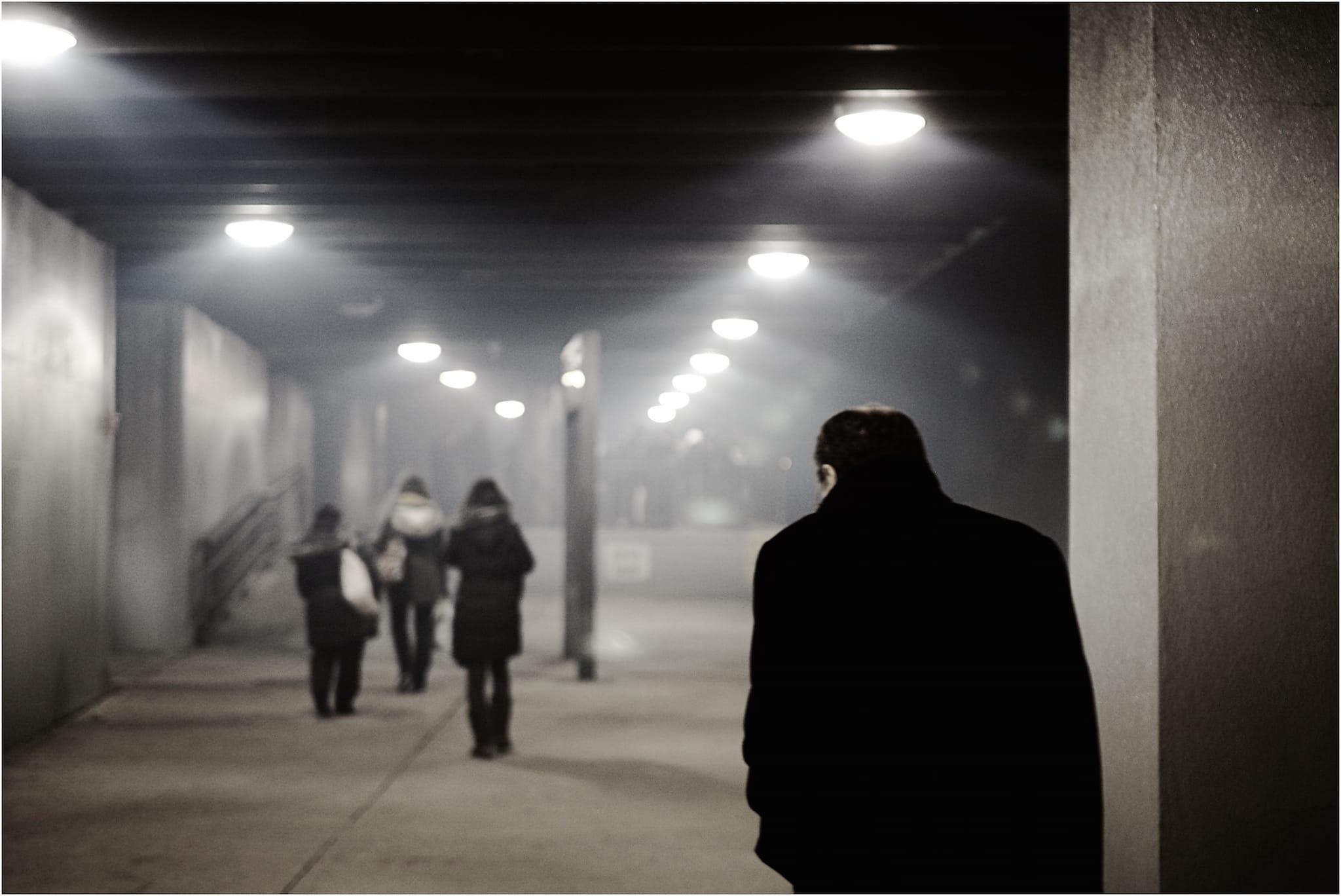 """Kafka?"" by Philip Salgannik. Shot in Back Bay Rail Station, Boston, MA, USA, November, 2014"