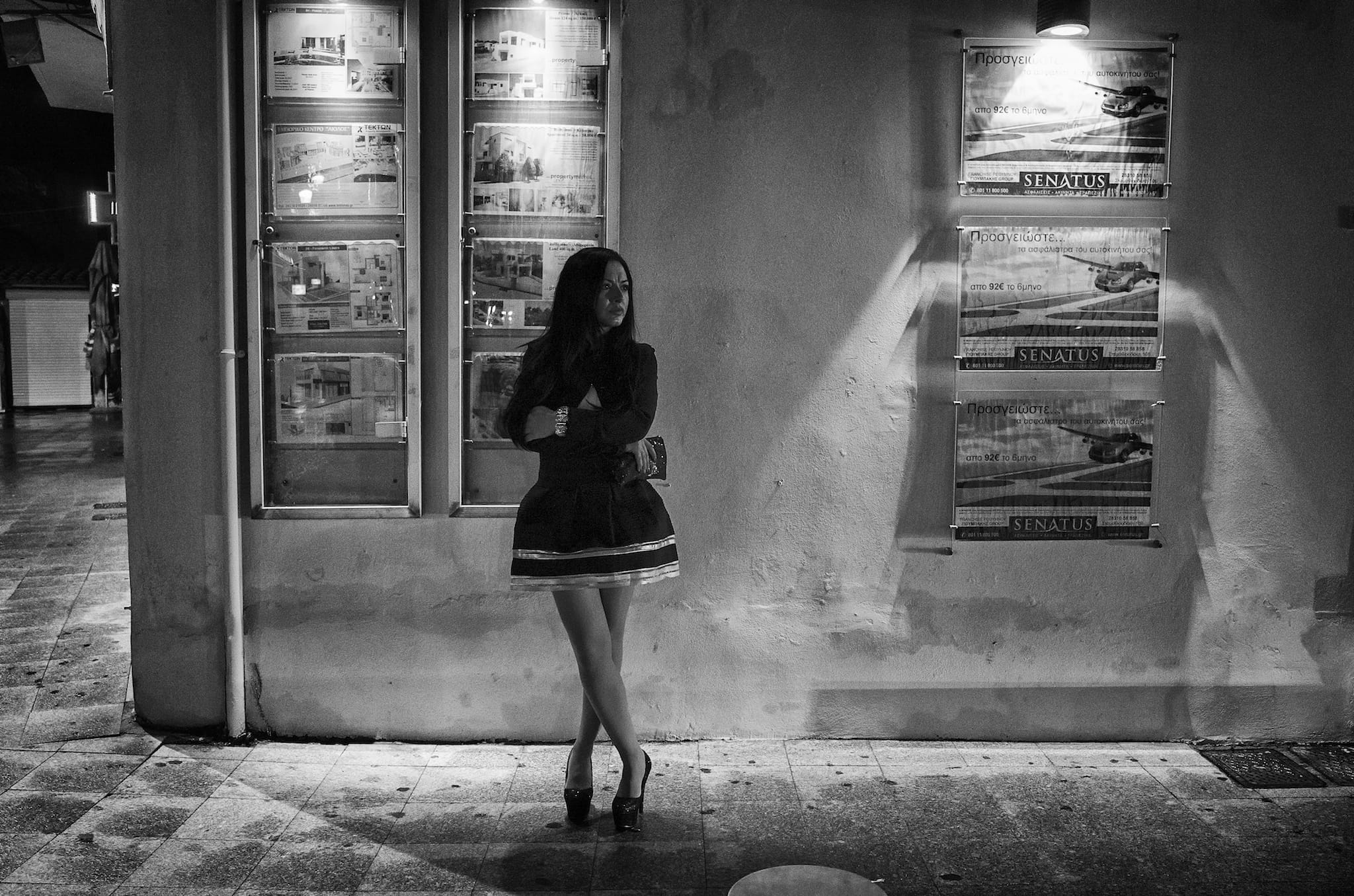"""Date Night"" by Spyros Papaspyropoulos Shot in Rethymno, Crete, Greece. January 2015"