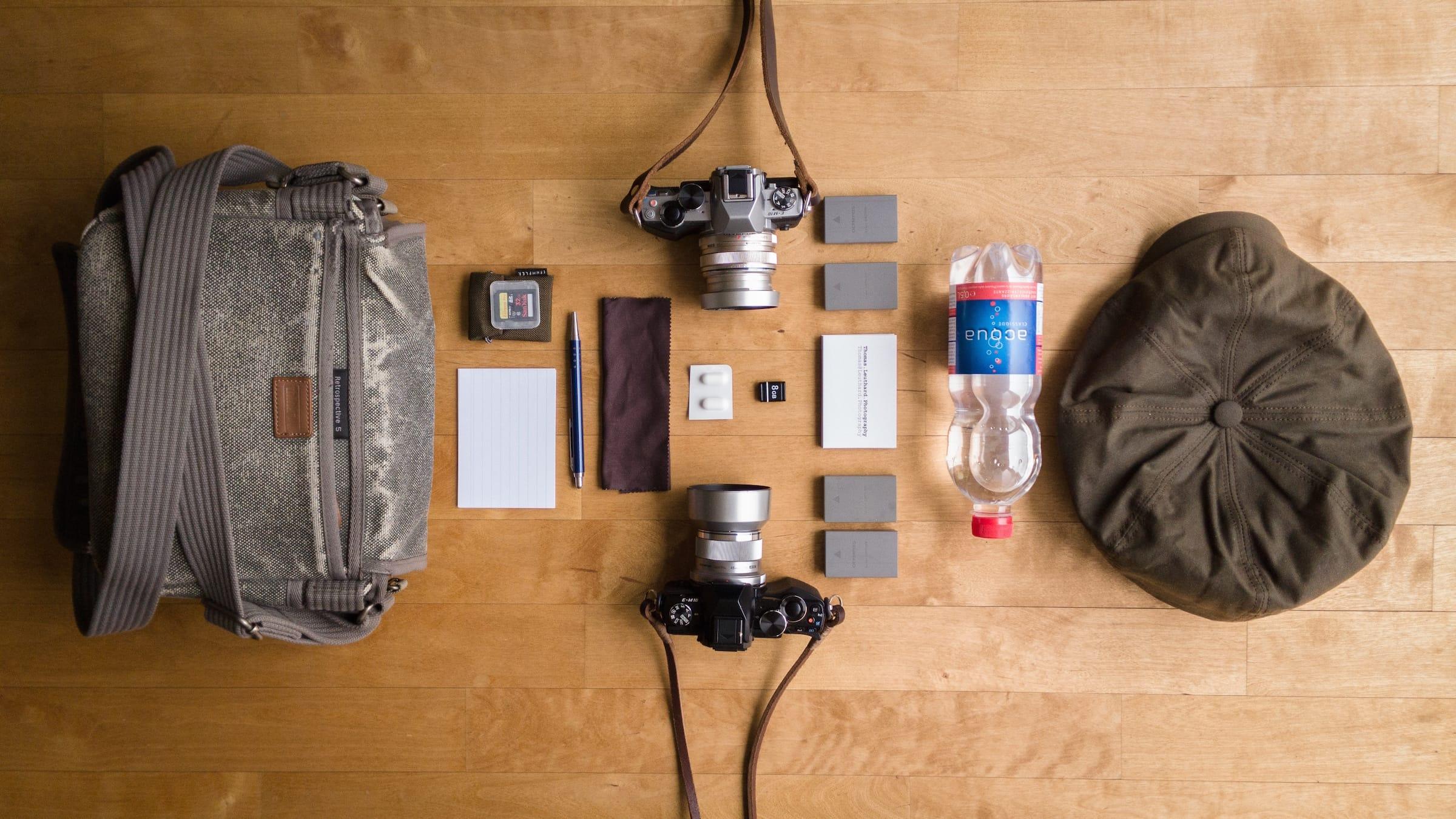 Thomas Leuthards Camera Bag