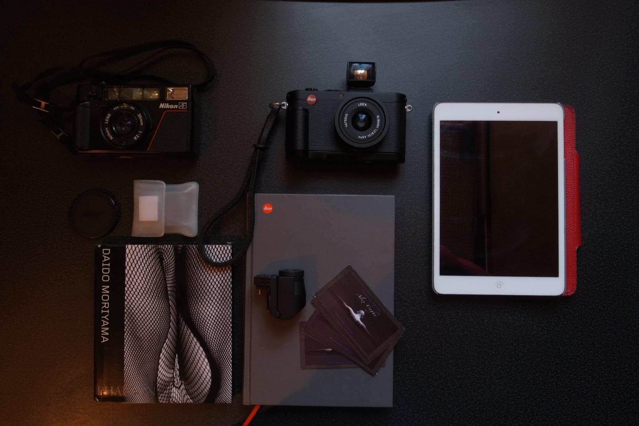 Alex Coghe's camera bag setup 2