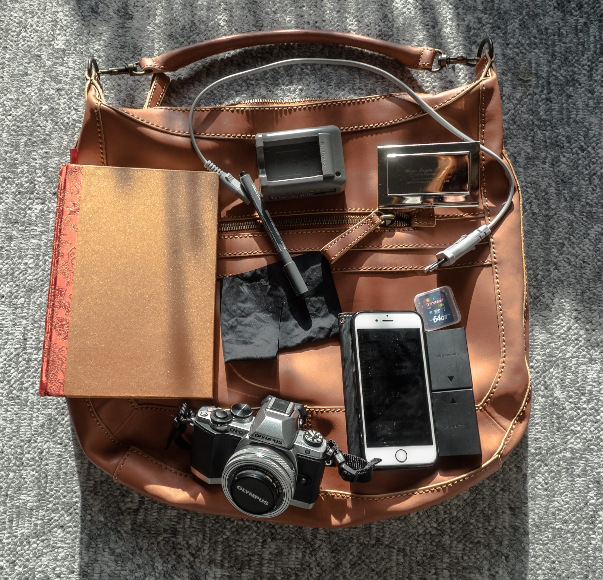 Inside Georgie Pauwels' Camera Bag