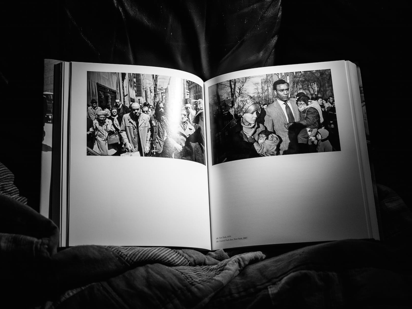 "Inside the book ""Garry WInogrand"""