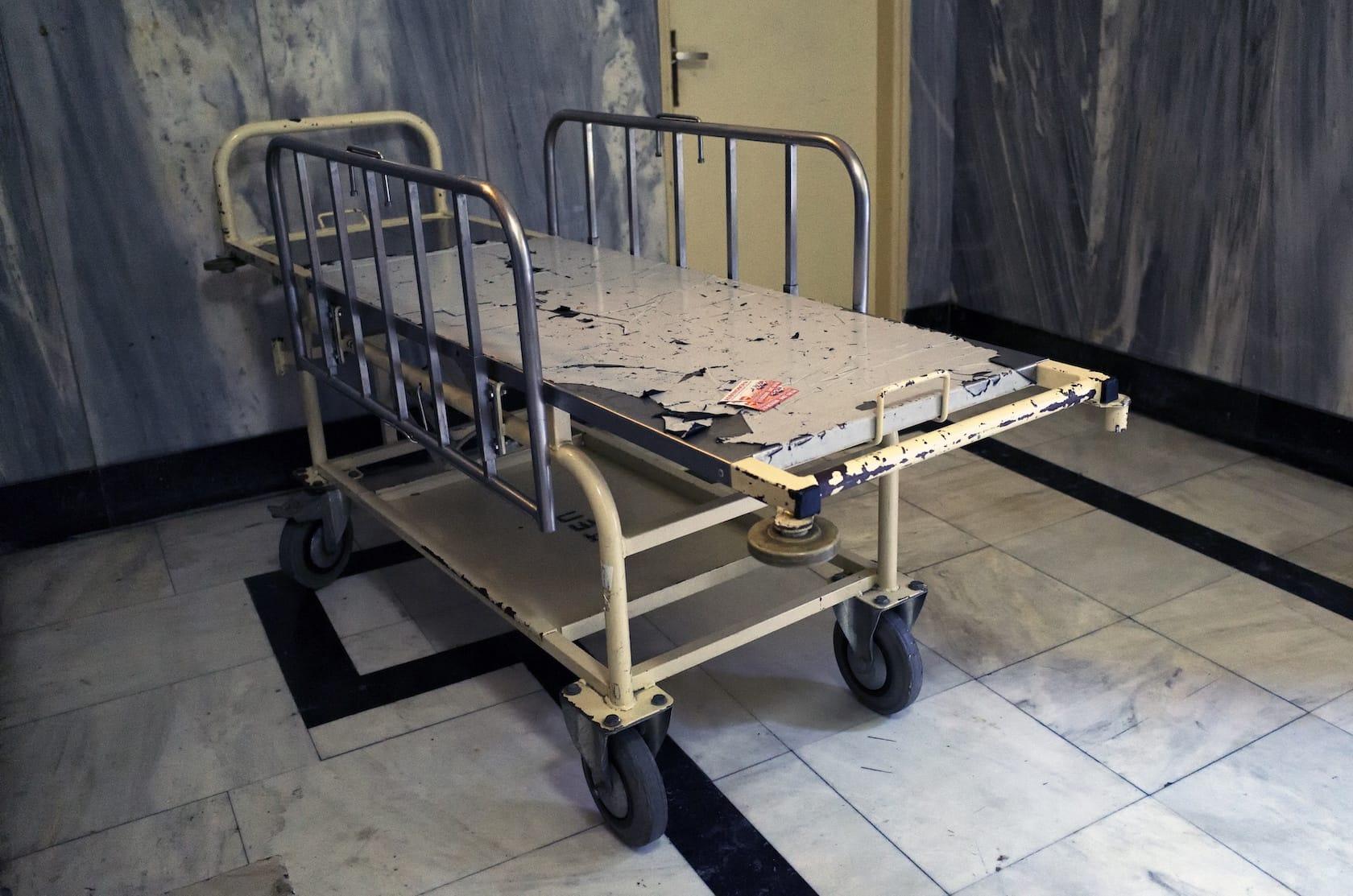 """""""Death bed"""" by Spyros Papaspyropoulos"""