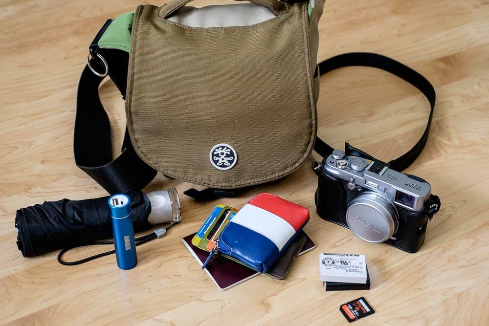 Inside Valerie Jardin's Camera Bag