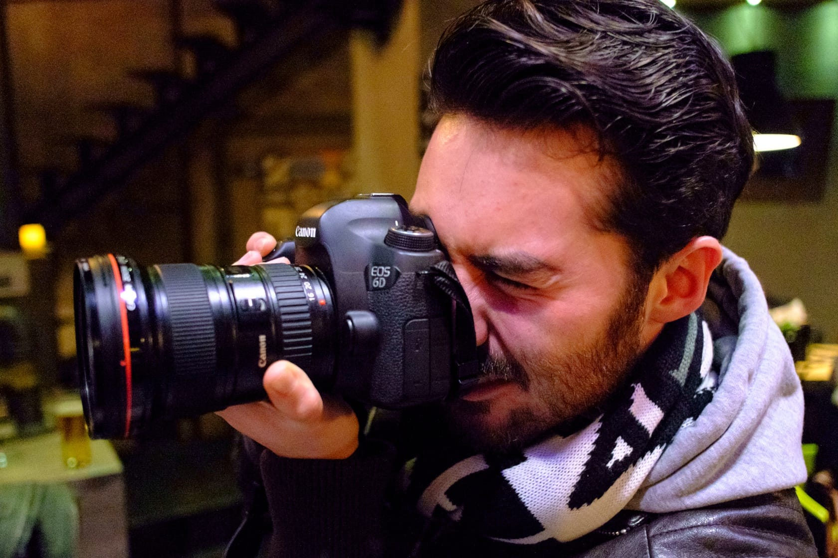 Digby Fullam with the Canon 6D