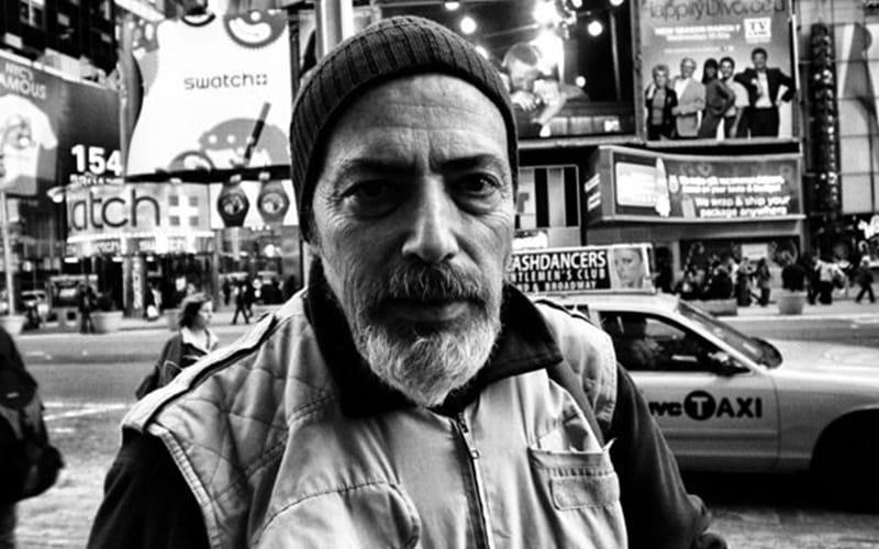 Street Photographer Bruce Gilden
