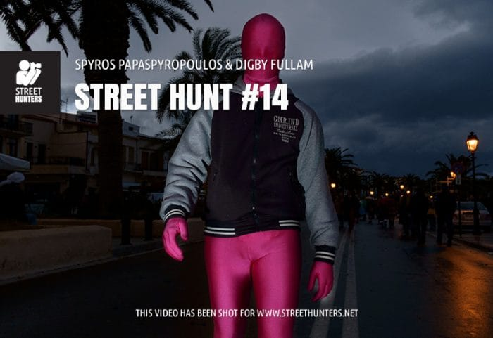 Street Hunt No 14 - Off camera flash Street Photography