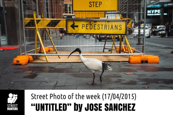 Street Photo of the Week by Jose Sanchez