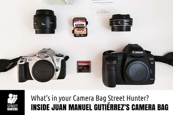 Juan Manuel Gutiérrez's Camera Bag