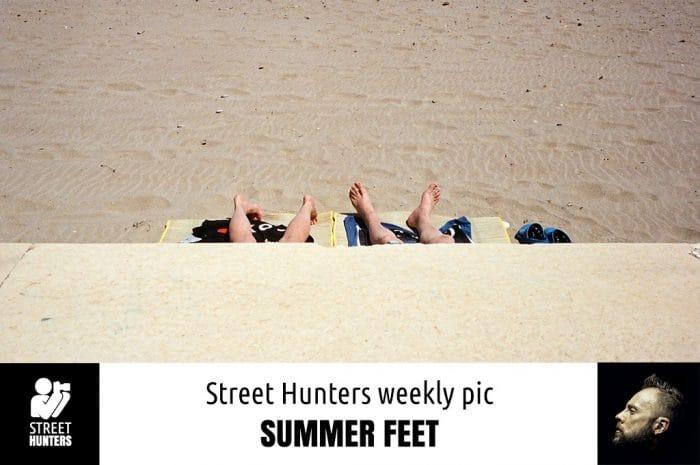Street Hunters Weekly Pic - Summer Feet
