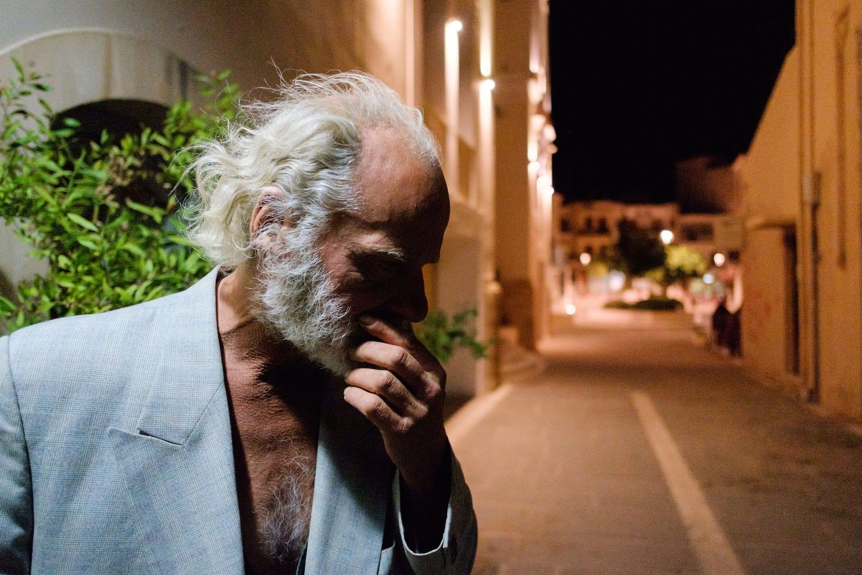 Pondering man shot by Spyros Papaspyropoulos