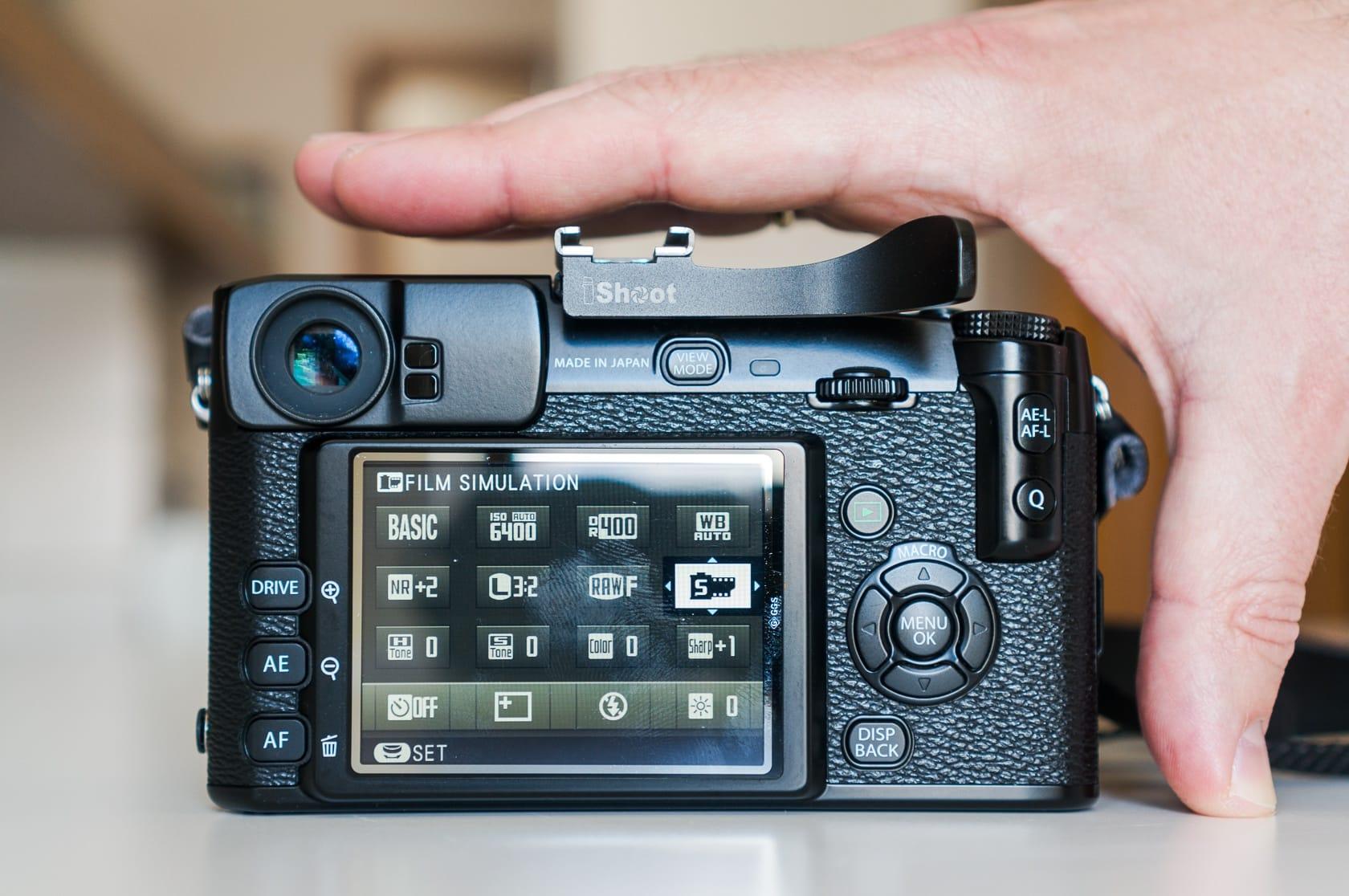 Fujifilm X-Pro1 back