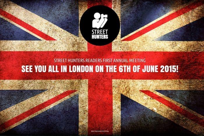 1st Annual International Streethunters.net Readers Meeting in London