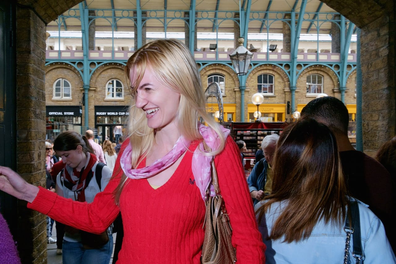 Flash Photography in Covent Garden