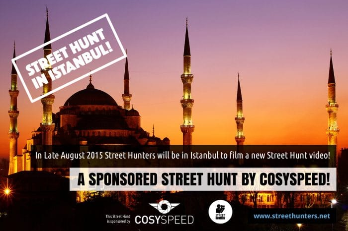 Announcing the Istanbul Street Hunt sponsored by Cosyspeed