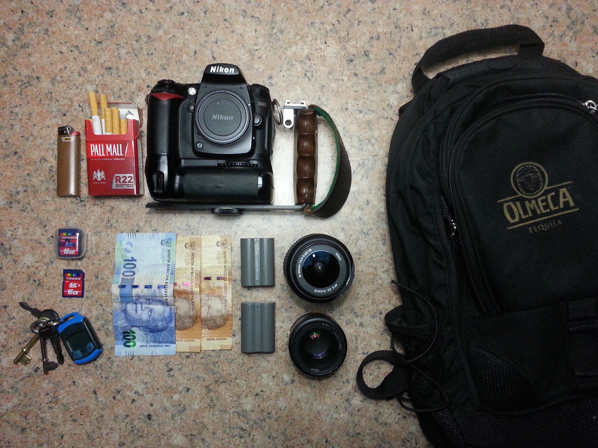 Marius Bester's Camera Bag