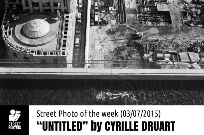 Street Photo of the week by Cyrille Druart