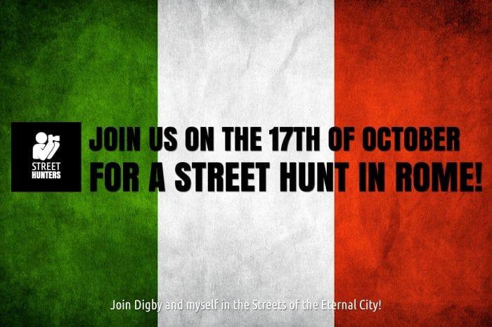 Rome Street Hunt