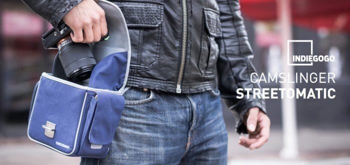 COSYSPEED Camslinger Streetomatic Indiegogo Campaign