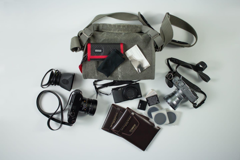 Doug Keech's Camera Bag