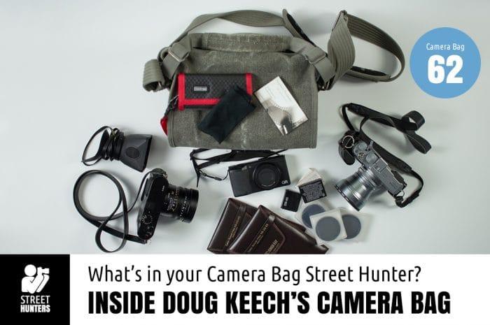 Inside Doug Keech's Camera Bag