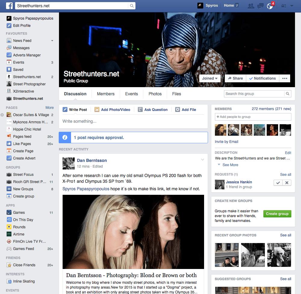 Street Hunters Facebook Group