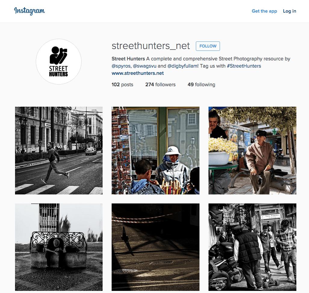 Street Hunters Instagram Page