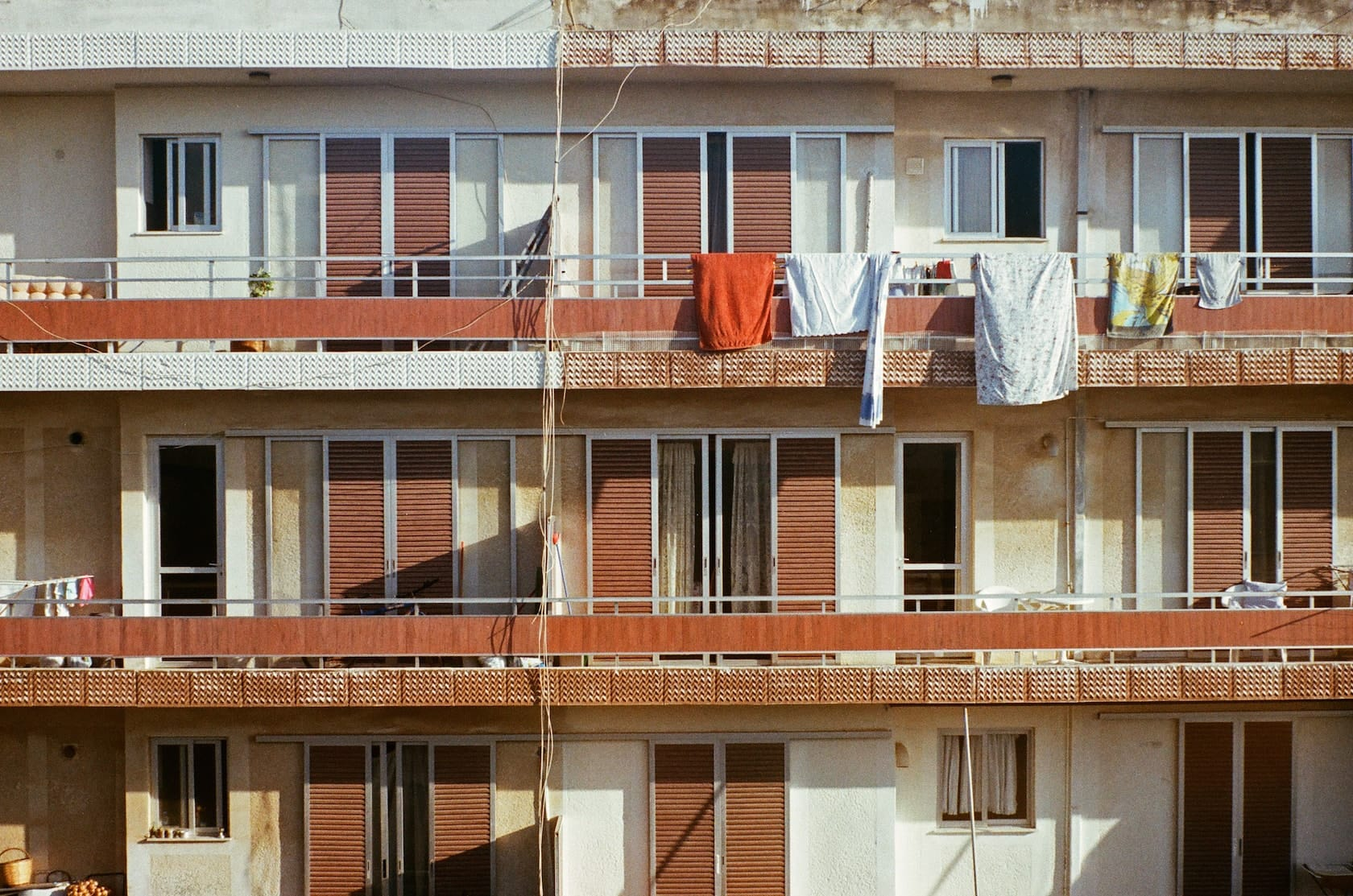film Agfa Colour 100 MG-1 Apartment Building