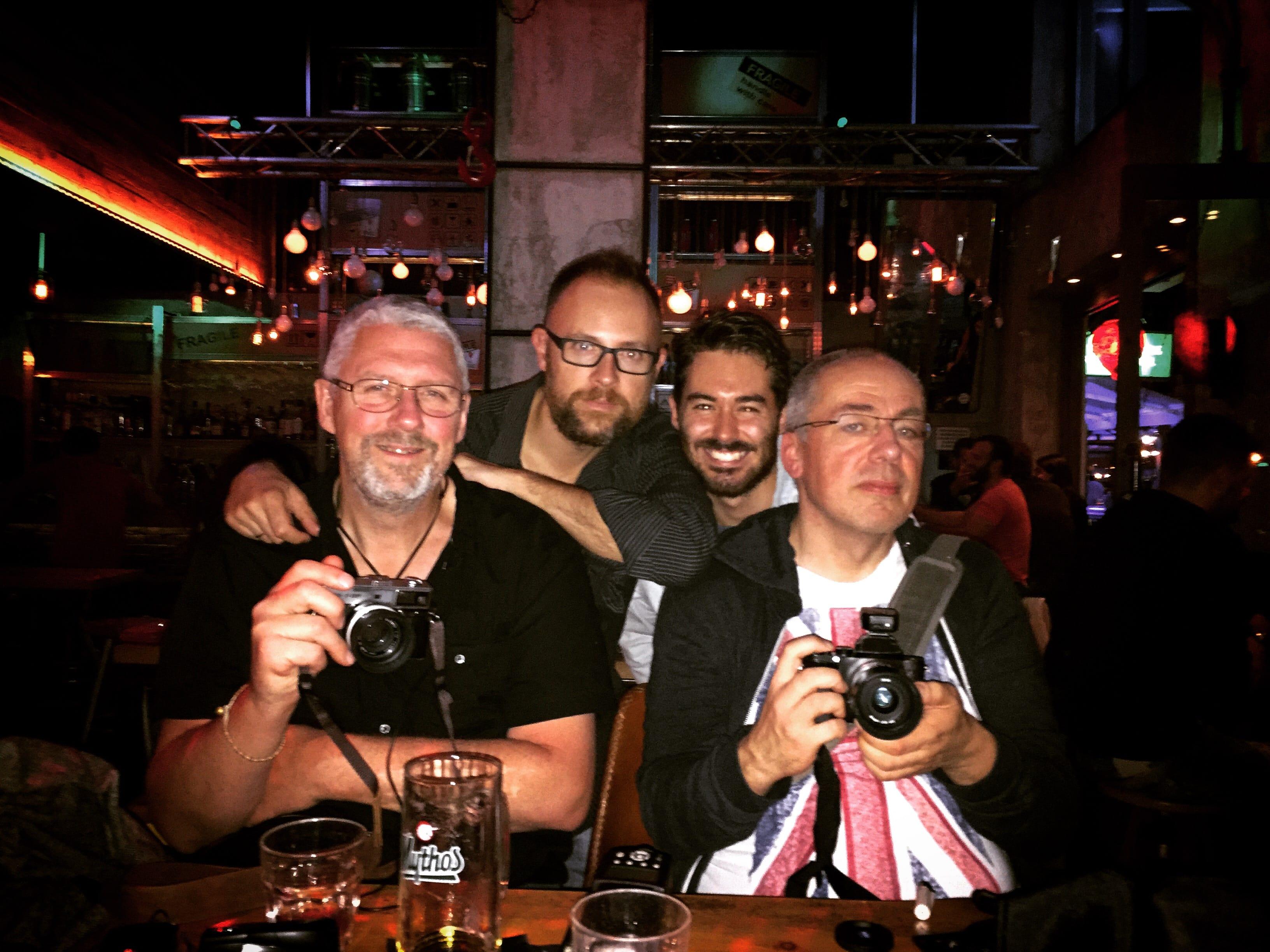 Dan, Spyros, Digby & Martin