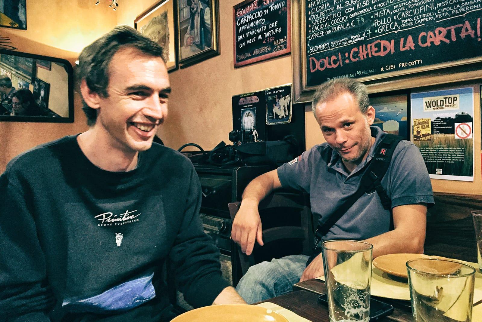 Dan Redrup and Marcello Perino