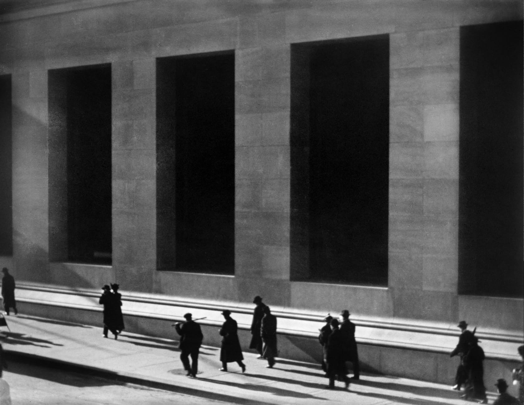 Wall Street by Paul Strand