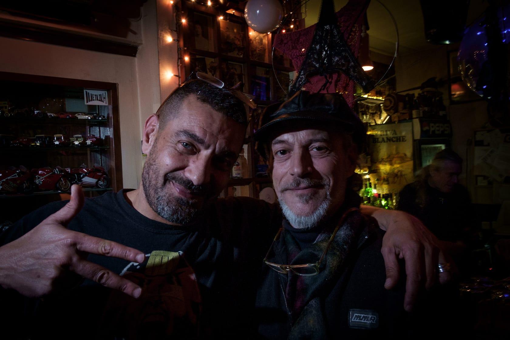 Yiannis Yiasaris and Nikos Vukiklarakis