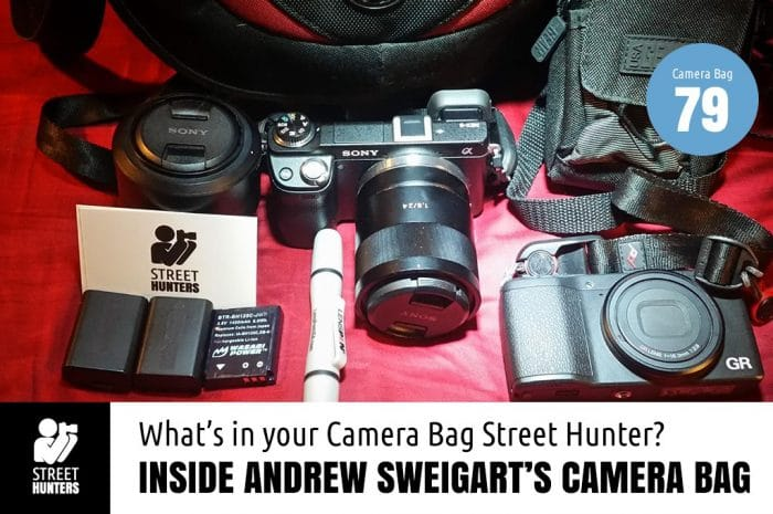 Inside Andrew Sweigart's Camera Bag