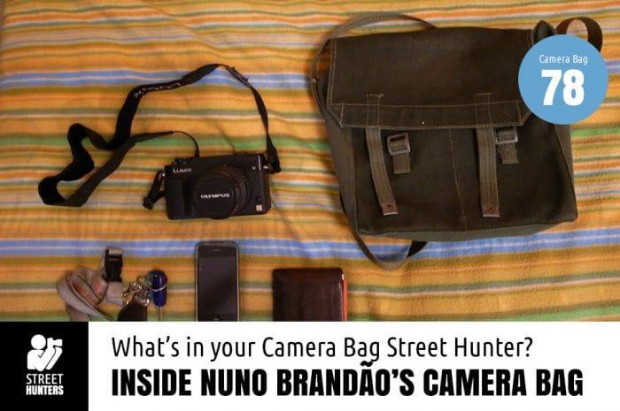 Inside Nuno Brandau's Camera Bag