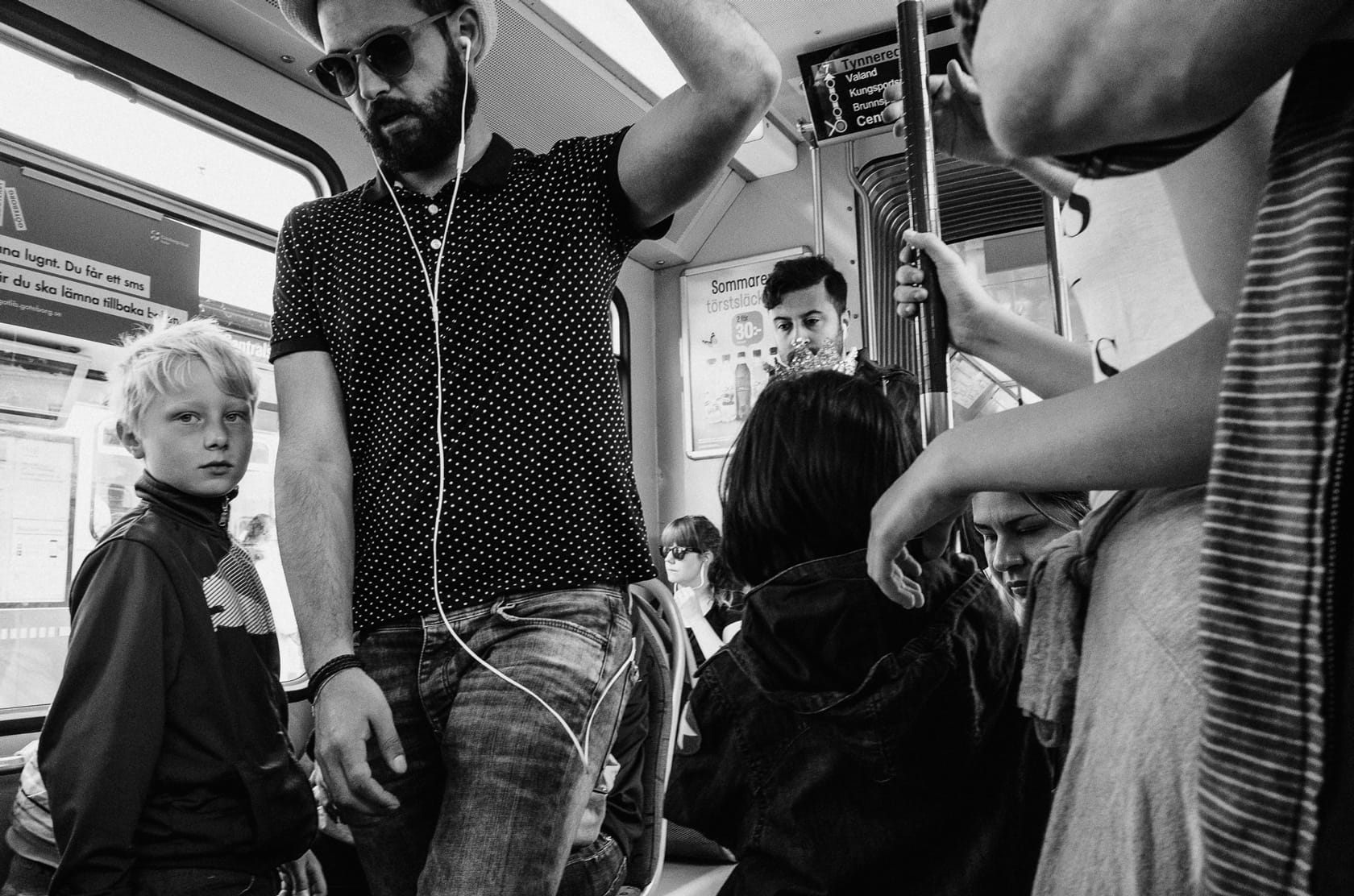 'On The Tram' by Linus Andersson