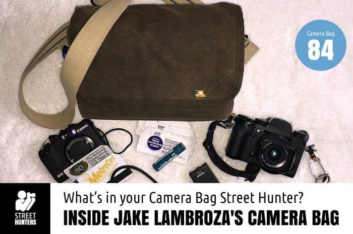 Inside Jake Lambroza's Camera Bag