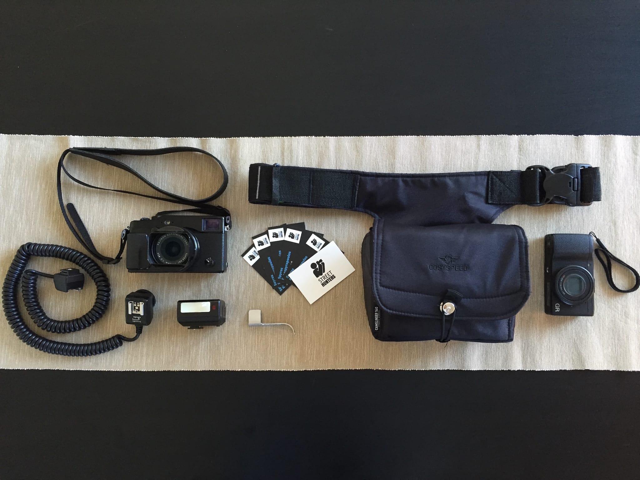 Inside Spyros Papaspyropoulos' Camera Bag