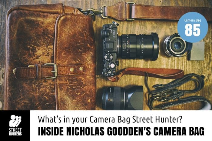 Inside Nicholas Goodden's Camera Bag